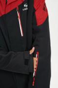 Оптом Горнолыжная куртка мужская большого размера красного цвета 77029Kr в Екатеринбурге, фото 4