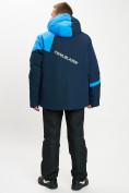 Оптом Горнолыжная куртка мужская большого размера синего цвета 77029S в Екатеринбурге, фото 8