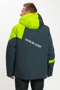 Оптом Горнолыжная куртка мужская большого размера зеленого цвета 77029Z в Екатеринбурге, фото 9