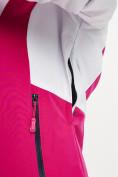 Оптом Горнолыжная куртка женская розового цвета 77030R в Екатеринбурге, фото 8