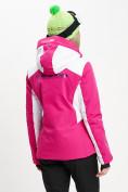 Оптом Горнолыжная куртка женская розового цвета 77030R в Екатеринбурге, фото 7
