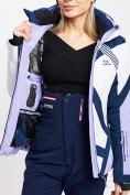 Оптом Горнолыжная куртка женская фиолетового цвета 77031F в Екатеринбурге, фото 12