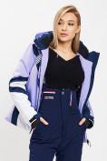 Оптом Горнолыжная куртка женская фиолетового цвета 77031F в Екатеринбурге, фото 8