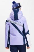 Оптом Горнолыжная куртка женская фиолетового цвета 77031F в Екатеринбурге, фото 5