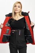 Оптом Горнолыжная куртка женская красного цвета 77031Kr в Екатеринбурге, фото 12