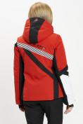 Оптом Горнолыжная куртка женская красного цвета 77031Kr в Екатеринбурге, фото 7