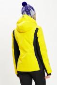 Оптом Горнолыжная куртка женская желтого цвета 77034J в Екатеринбурге, фото 4