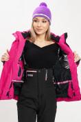 Оптом Горнолыжная куртка женская розового цвета 77034R в Екатеринбурге, фото 9