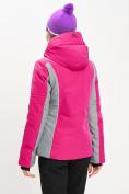 Оптом Горнолыжная куртка женская розового цвета 77034R в Екатеринбурге, фото 11