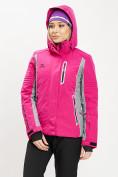 Оптом Горнолыжная куртка женская розового цвета 77034R в Екатеринбурге, фото 4