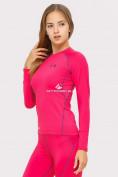 Оптом Термобелье женское розового цвета 8010R, фото 3