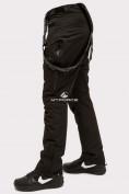 Оптом Брюки горнолыжные мужские черного цвета 804Ch, фото 5