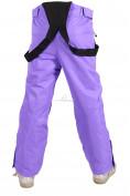 Оптом Брюки горнолыжные подростковые для девочки фиолетового цвета 816F, фото 6
