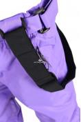 Оптом Брюки горнолыжные подростковые для девочки фиолетового цвета 816F, фото 7