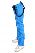 Оптом Брюки горнолыжные подростковые для девочки синего цвета 816S, фото 5