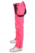 Оптом Брюки горнолыжные подростковые для девочки розового цвета 816R, фото 6