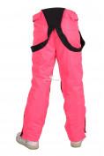 Оптом Брюки горнолыжные подростковые для девочки розового цвета 816R, фото 4