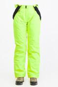 Оптом Брюки горнолыжные женские салатового цвета 818Sl, фото 4