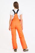 Оптом Брюки горнолыжные женские оранжевого цвета 818O в Перми, фото 3