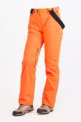 Оптом Брюки горнолыжные женские оранжевого цвета 818O в Нижнем Новгороде, фото 5