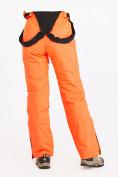 Оптом Брюки горнолыжные женские оранжевого цвета 818O в Нижнем Новгороде, фото 6