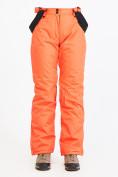 Оптом Брюки горнолыжные женские персикового цвета 818P в Екатеринбурге, фото 2