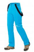 Оптом Брюки горнолыжные женские синего цвета 818S в  Красноярске, фото 6