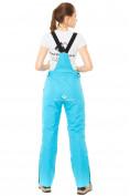 Оптом Брюки горнолыжные женские голубого цвета 818Gl, фото 3