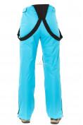 Оптом Брюки горнолыжные женские голубого цвета 818Gl, фото 8