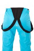 Оптом Брюки горнолыжные женские голубого цвета 818Gl, фото 10