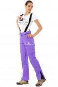 Оптом Брюки горнолыжные женские фиолетового цвета 818F в  Красноярске, фото 3