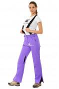 Оптом Брюки горнолыжные женские фиолетового цвета 818F в  Красноярске, фото 4