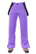 Оптом Брюки горнолыжные женские фиолетового цвета 818F в  Красноярске, фото 2