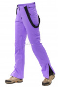 Оптом Брюки горнолыжные женские фиолетового цвета 818F в  Красноярске, фото 6