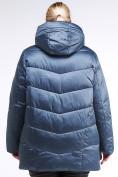 Оптом Куртка зимняя женская стеганная синего цвета 85-923_49S в Казани, фото 5