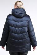 Оптом Куртка зимняя женская стеганная темно-синего цвета 85-923_5TS в Казани, фото 4