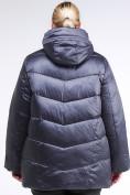 Оптом Куртка зимняя женская стеганная темно-фиолетовый цвета 85-923_889TF в Казани, фото 4