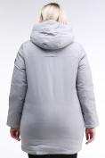 Оптом Куртка зимняя женская классическая серого цвета 86-801_20Sr в Казани, фото 4