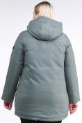 Оптом Куртка зимняя женская классическая цвета хаки 86-801_7Kh в Екатеринбурге, фото 5