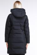 Оптом Куртка зимняя женская молодежная стеганная черного цвета 870_01Ch в Казани, фото 5