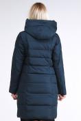 Оптом Куртка зимняя женская молодежная стеганная темно-зеленого цвета 870_03TZ в Казани, фото 5
