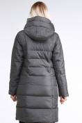 Оптом Куртка зимняя женская молодежная стеганная светло-серого цвета 870_05SS в Екатеринбурге, фото 4