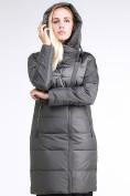 Оптом Куртка зимняя женская молодежная стеганная светло-серого цвета 870_05SS в Екатеринбурге, фото 5