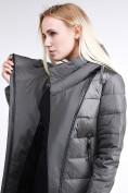 Оптом Куртка зимняя женская молодежная стеганная светло-серого цвета 870_05SS в Екатеринбурге, фото 7