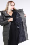 Оптом Куртка зимняя женская молодежная стеганная светло-серого цвета 870_05SS в Екатеринбурге, фото 8