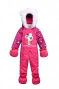 Оптом Комбинезон детский розовый 8802R в Екатеринбурге