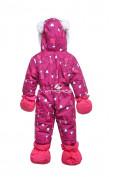 Оптом Комбинезон детский розовый 8802R в Екатеринбурге, фото 2