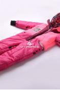 Оптом Комбинезон подростковый для девочки розовый 8808R в Казани, фото 5