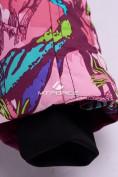 Оптом Комбинезон подростковый для девочки розовый 8808R в Казани, фото 11