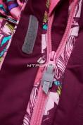 Оптом Комбинезон подростковый для девочки розовый 8808R в Казани, фото 13